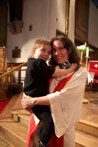 gwen Mcallister at her ordination