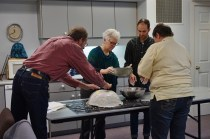 Building a papier mache bowl to be used in worship