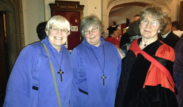 Maylanne at Trinity Convocation