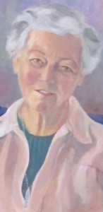 Portrait of Katharine Hockin by Lena Endicott