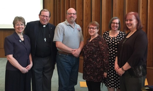 Graduates of Ministering by Word and Example: exploring the Anglican tradition of diakonia