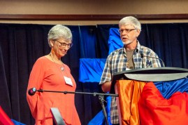 Barbara Hansen (L) retires in BC Conference