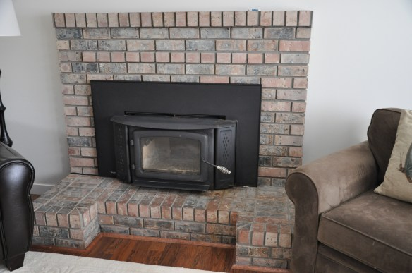 "A Tale Of The ""Ugly"" Brick Fireplace…"