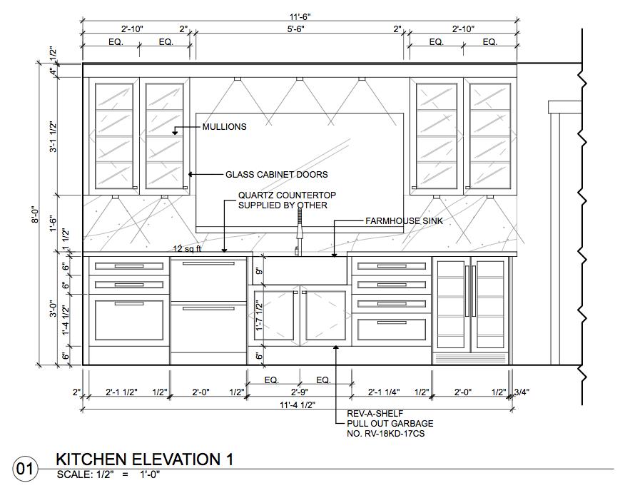 Millwork Kitchen Cabinets