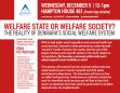 [Presentation] Welfare State or Welfare Society? The Reality of Denmark's Social Welfare System (12.9.2015)