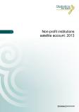 New Zealand: Nonprofit Institutions Satellite Account, 2013 (2015)