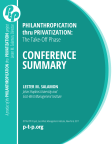 Conference Report: The 2016 Hannover PtP Conference (4.2017)