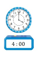 Go-Math-Grade-1-Chapter-9-Answer-Key-Measurement-Lesson-9.8-Tell-Time-to-the-Hour-and-Half-Hour-Share-Show-Question-3