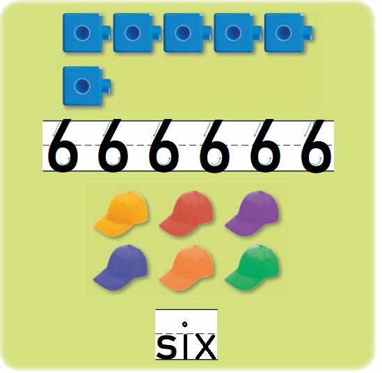 Go-Math-Grade-K-Chapter-3-Answer-Key-Represent-Count-and-Write-Numbers-6-to-9-Lesson-3.2-Count-and-Write-to-6-Listen-and-Draw
