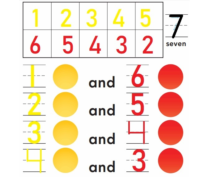 Go-Math-Grade-K-Chapter-3-Answer-Key-Represent-Count-and-Write-Numbers-6-to-9- Model-and-Count-7-Homework- Practice-3.3-Question-1