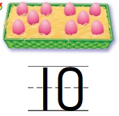 Go-Math-Grade-K-Chapter-4-Answer-Key-Represent-and-Compare-Numbers-to-10-Lesson-4.2-Count-and-Write-to-10-Share-and-Show-Question-4