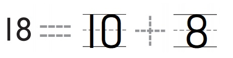 Go-Math-Grade-K-Chapter-7-Answer-Key-Represent-Count-and-Write-11-to-19-Lesson-7.10-Count-and-Write-18-and-19-Share-Show-Question-3
