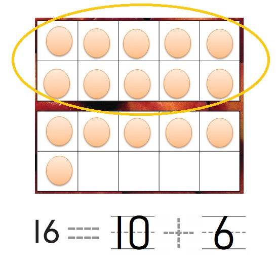 Go-Math-Grade-K-Chapter-7-Answer-Key-Represent-Count-and-Write-11-to-19-Lesson-7.7-Model-and-Count-16-and-17-Problem-Solving-Applications-Question-9