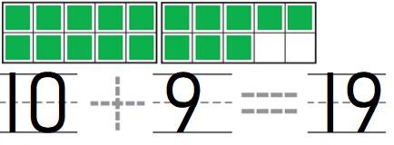 Go-Math-Grade-K-Chapter-7-Answer-Key-Represent-Count-and-Write-11-to-19-Represent-Count-and-Write-11-to-19-Review-Test-Question-10