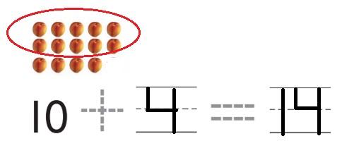 Go-Math-Grade-K-Chapter-7-Answer-Key-Represent-Count-and-Write-11-to-19-Represent-Count-and-Write-11-to-19-Review-Test-Question-14