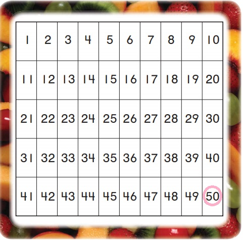 Go-Math-Grade-K-Chapter-8-Answer-Key-Represent,-Count,-and-Write-20-and-Beyond-Lesson-8.5-Count-to-50-by-Ones-Listen-Draw