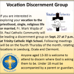 Vocation Discernment Group