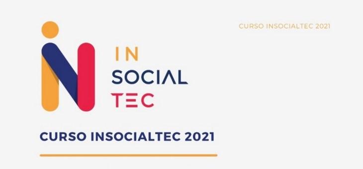 Projeto multidisciplinar Insocialtec acontece, de forma remota, na próxima semana. Inscreva-se
