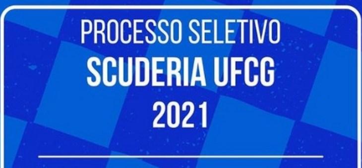 Equipe Scuderia/UFCG abre seleção para novos membros
