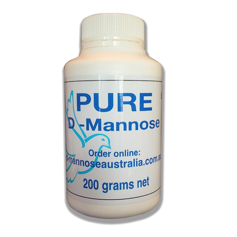 D-Mannose甘露糖200克装—防治反复性尿路感染的新趋势