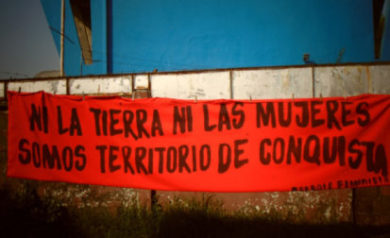 mujeres y extractivismo