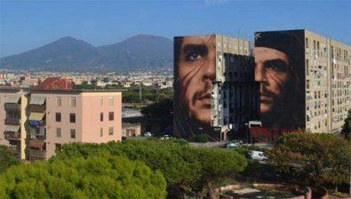 Mural-Che-Napoles
