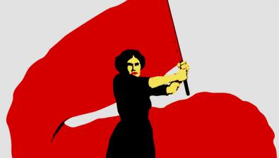 roja mujer