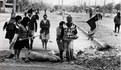 Protestas 1983-84