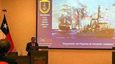 Chile al revés: Armada imparte formación ciudadana para estudiantes  secundarios. – Correo de los Trabajadores