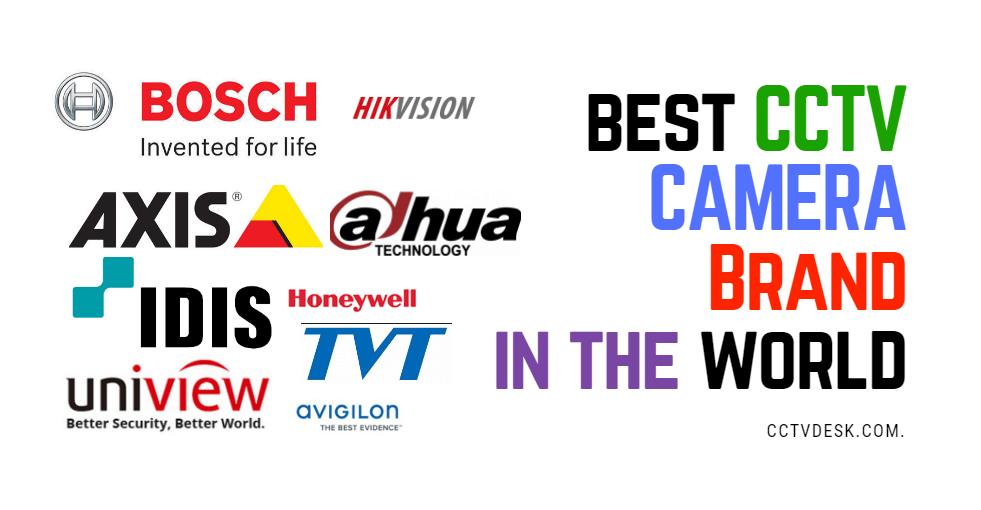 best cctv camera brand in the world