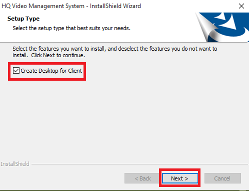 Create a desktop icon for CMS