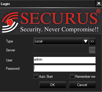 Login into this CMS
