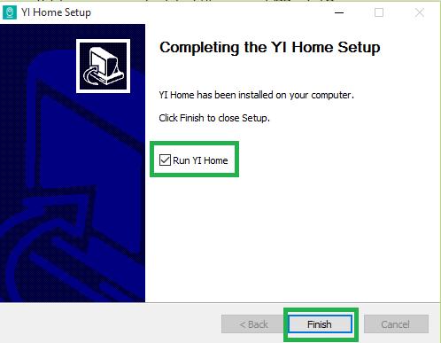 YI Home App for Windows