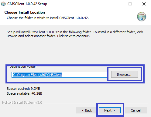 Change directory of IEye client
