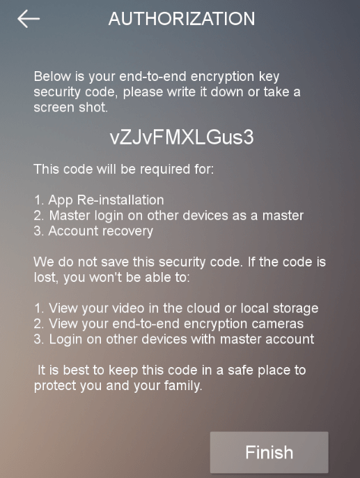 End-To-End Encryption Code