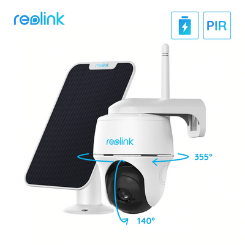 Reolink Argus PT With Solar Panel