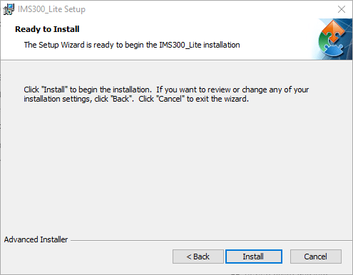 Begin the installation of CMS