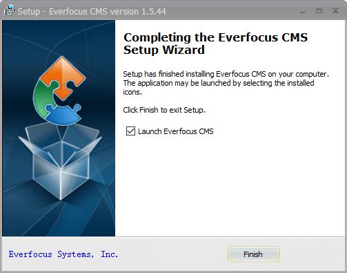 Launch EverFocus Application