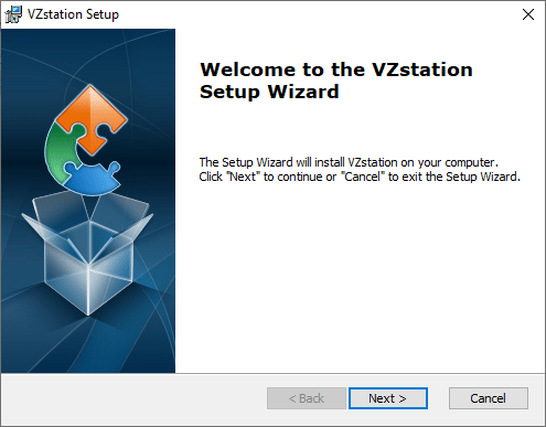 The installation of VZView For PC