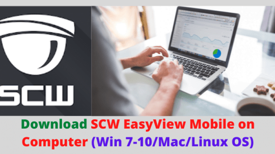 SCW EasyView Mobile on Computer