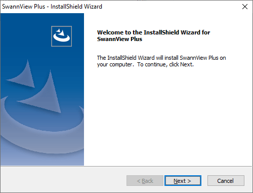 Setup wizard of the application
