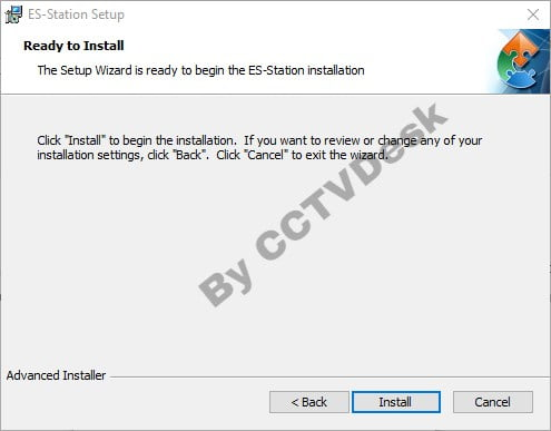 Application is ready for installation