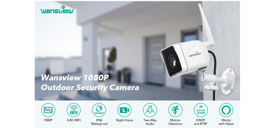 Wansview W6 Outdoor Camera 6