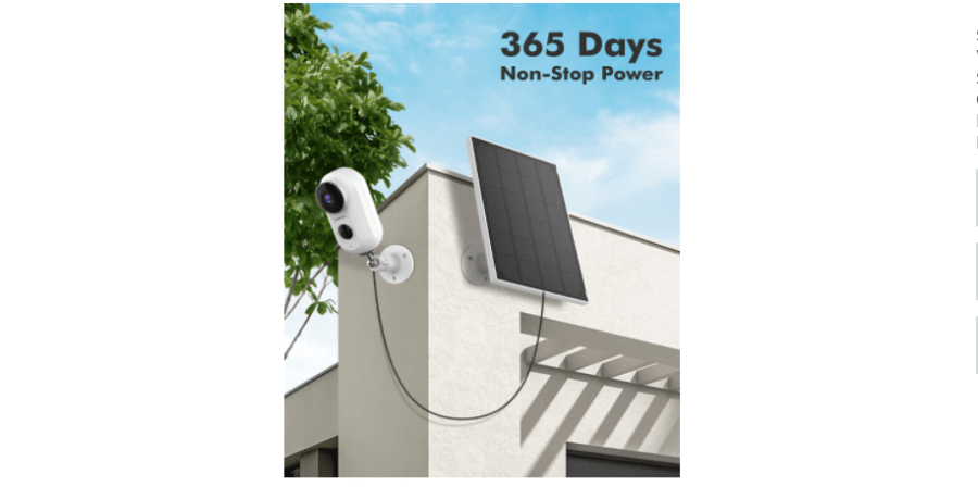 ZUMIMALL F5K Outdoor Security Camera 1