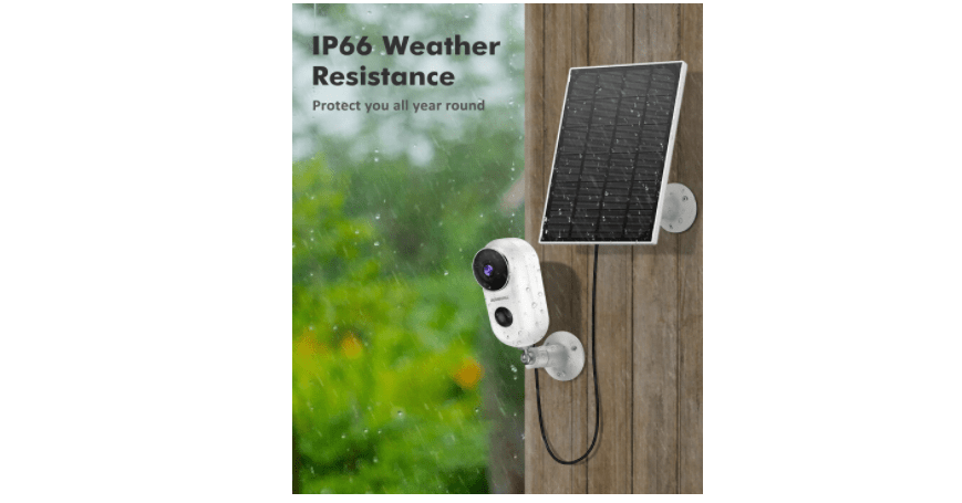 ZUMIMALL F5K Outdoor Security Camera 2