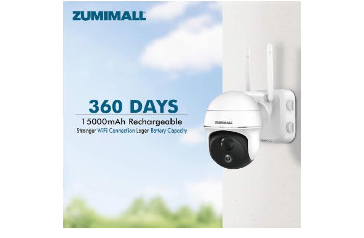 Zumimall PTZ Wireless camera 1