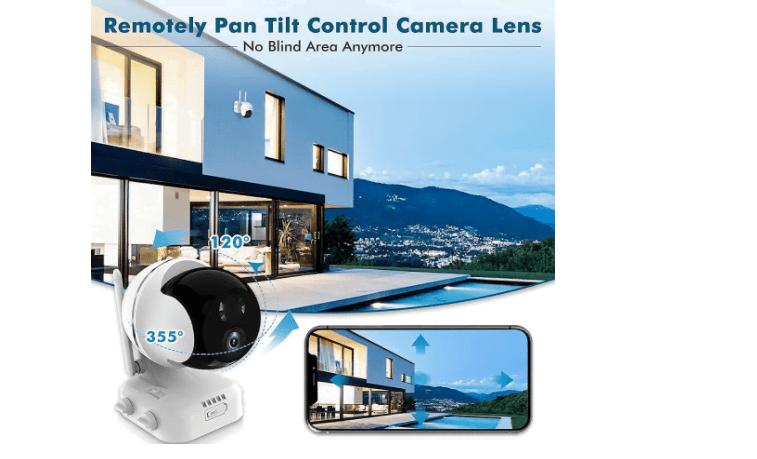 Zumimall PTZ Wireless camera 2