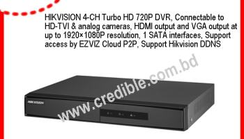 Hikvision DS-7108HGHI-F1 HDTVI DVR Price - CCTV Camera Price in