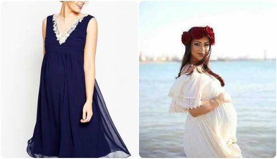 اجمل الفساتين حامل
