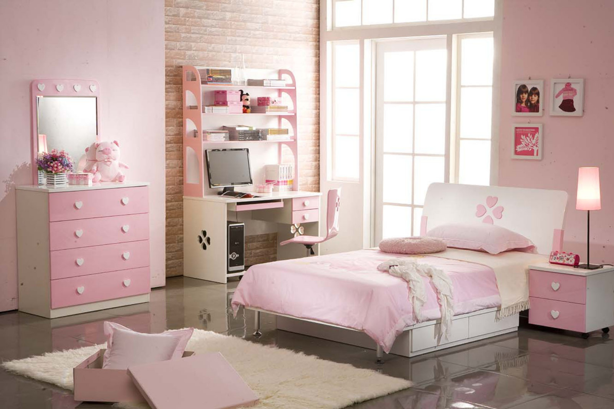 اجمل غرف نوم بنات كبارديكور غرف الصبايا Teenage Girl Bedroom Ideas